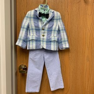 Toddler's Linen Suit